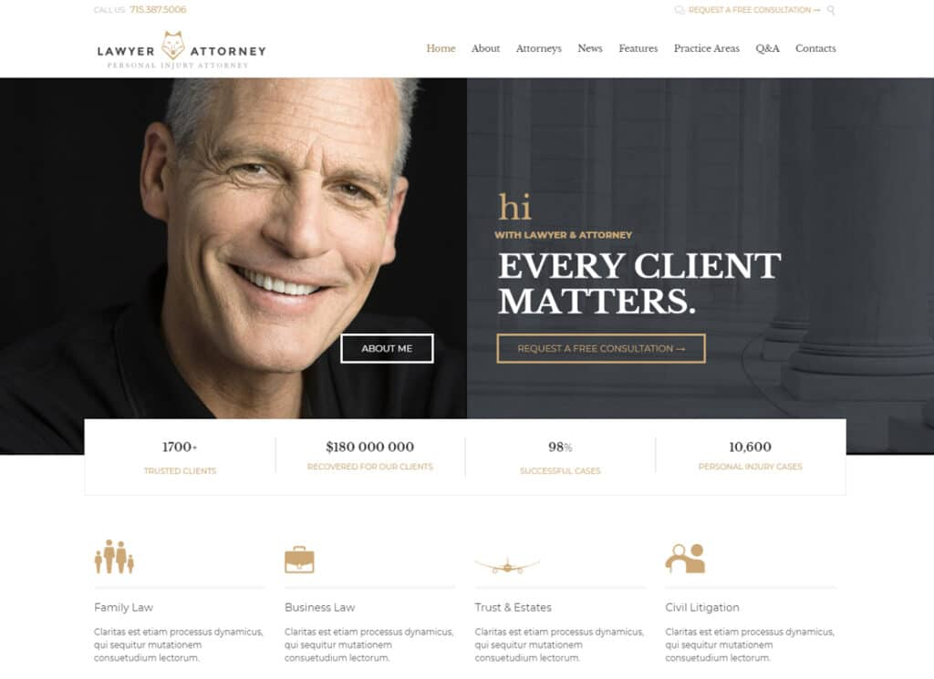 Lawyer personal Branding