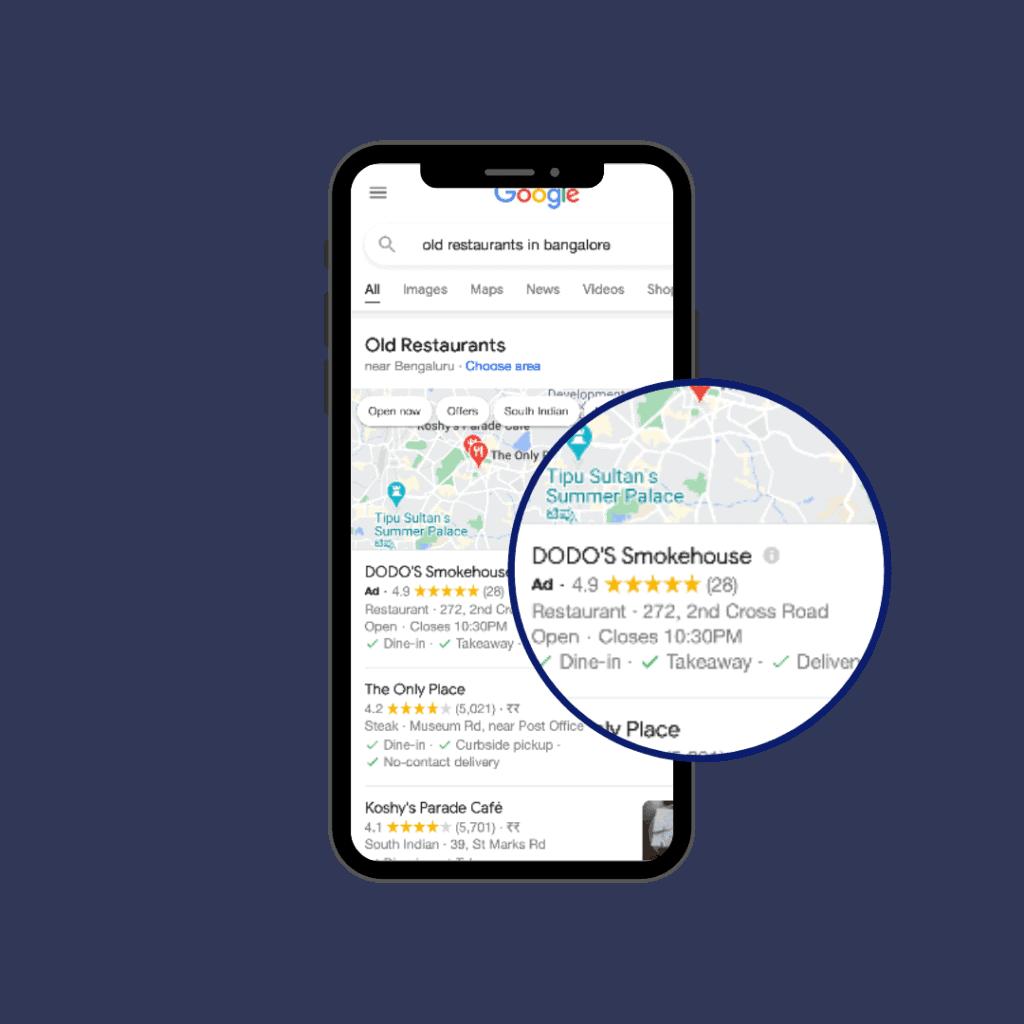 Google Local Store Campaign